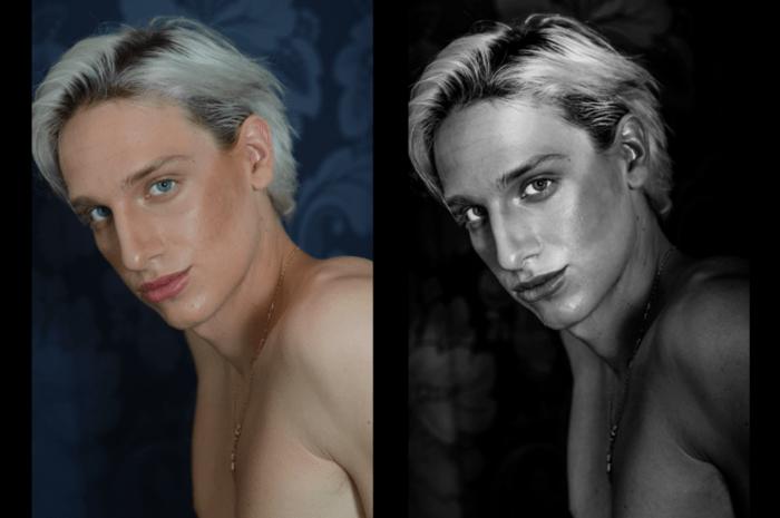 How I Edit Monochrome Portraits