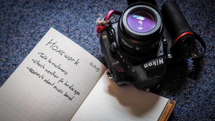 Did You Do Your Photography Homework?