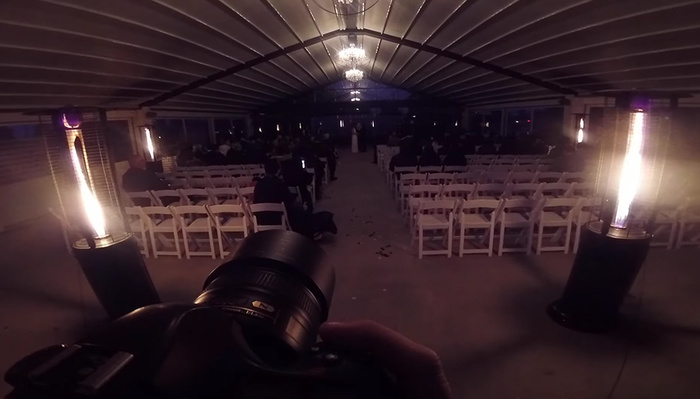 Shooting an Entire Wedding After Dark