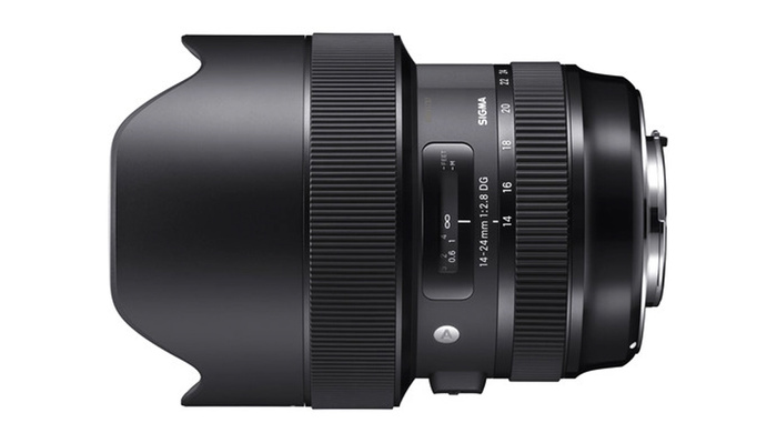 Take up to $300 off the Sigma 14-24mm f/2.8 DG HSM Art Lens Today Only