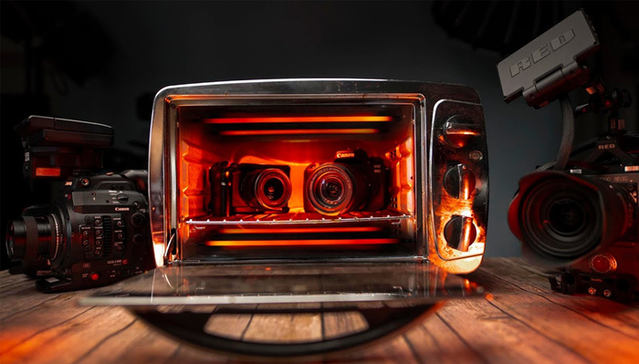 This Is What Happens When You Put Your Camera in the Oven