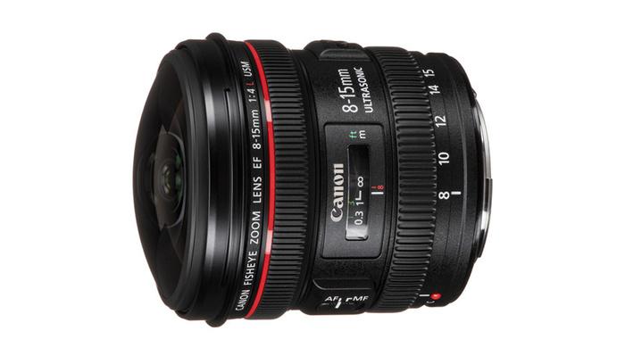Canon Patents 8mm f/4 Fisheye Lens
