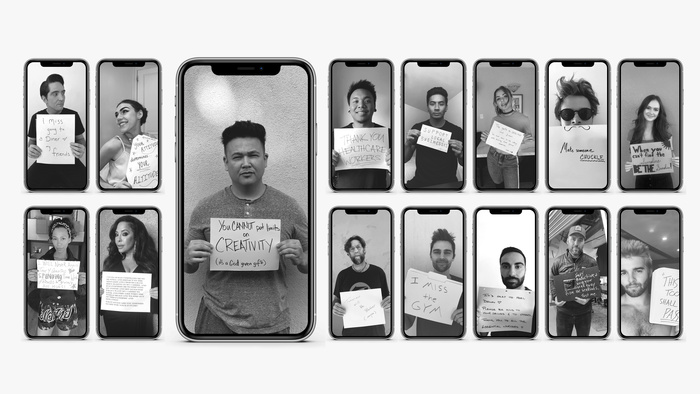 Photographer Spreads Awareness and Hope During COVID-19 Isolation Through Facetime Portraits