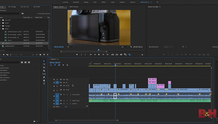 5 Tips for Faster Editing in Adobe Premiere Pro