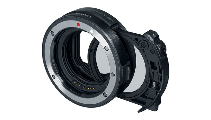 A Review of the Canon Drop-in Filter Mount EF-to-RF Adapter With Built-in Polarizing Filter