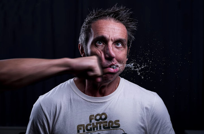 How to Shoot a Punch Portrait Without Making Physical Contact