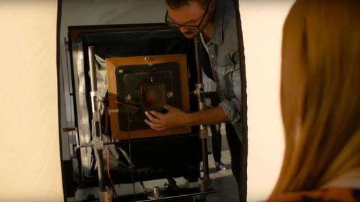 A Mesmerizing Look at the Process of Shooting a 20x24 Polaroid