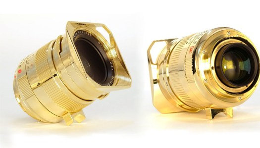 TTartisan Announces New Limited Edition, 24K Gold-Plated Lens for Leica