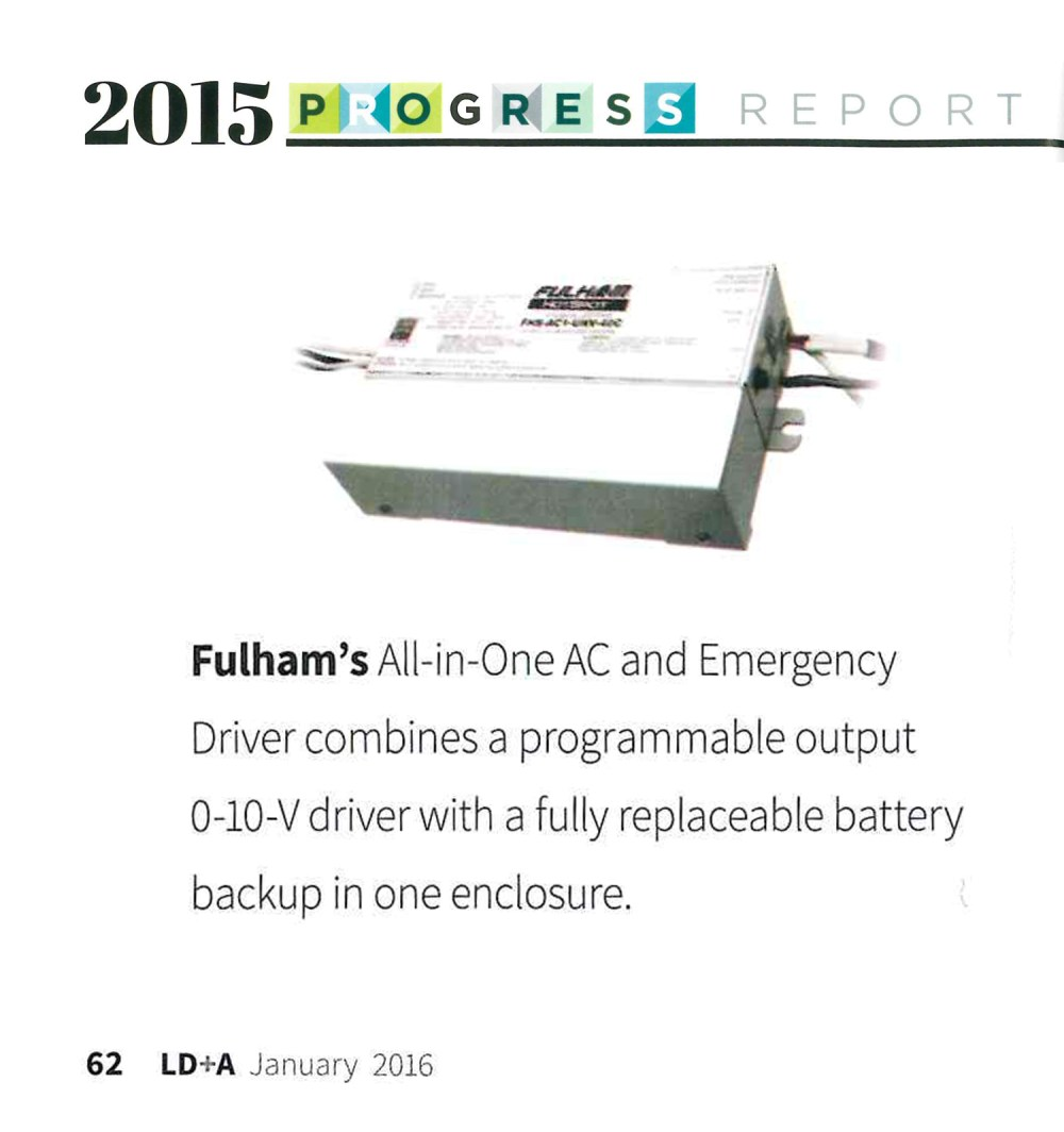 medium resolution of jan 2016 ld a magazine 2015 ies progress report fulham all in one led driver emergency system