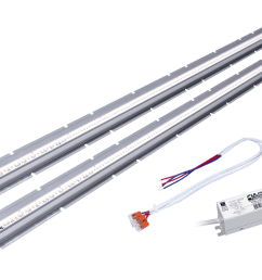 clever sustainable led linear high output retrofit kits [ 1800 x 1144 Pixel ]