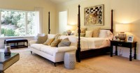 Lovely Bedroom Interiors with Sofas and Couches