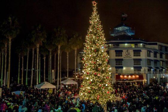 2017 Jack London Square Tree Lighting Ceremony Oakland