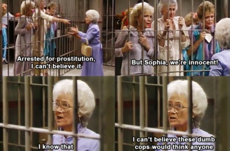Funny Golden Girl Quotes