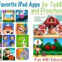 Ipad For Kids Favorite Educational Apps For Toddlers