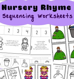 Free Nursery Rhymes Sequencing Activities - Fun with Mama [ 1400 x 800 Pixel ]