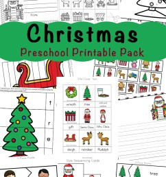 Free Printable Christmas Worksheets - Fun with Mama [ 1400 x 800 Pixel ]