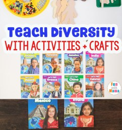 10 Cultural Diversity Activities For Elementary Students - Fun with Mama [ 1400 x 800 Pixel ]