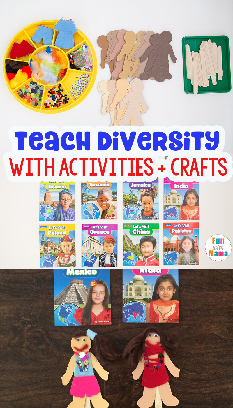 hight resolution of 10 Cultural Diversity Activities For Elementary Students - Fun with Mama