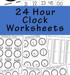 Telling Time Worksheets [ 1400 x 800 Pixel ]
