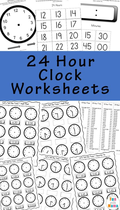 small resolution of Telling Time Worksheets
