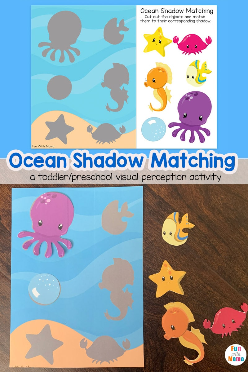 hight resolution of Ocean Shadow Matching - Fun with Mama