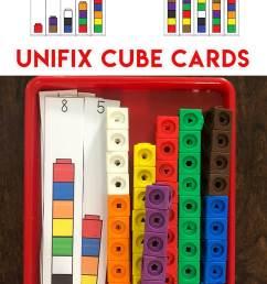 Unifix Cubes For Preschool Math - Fun with Mama [ 1200 x 800 Pixel ]