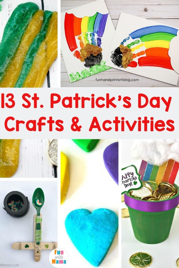 13 St Patrick S Day Crafts And Activities For Kids Of All Ages Fun With Mama