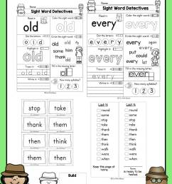First Grade Sight Words - Interactive Worksheets for Learning - Fun with  Mama [ 1518 x 1012 Pixel ]