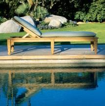 amalfi adjustable poolside chaise