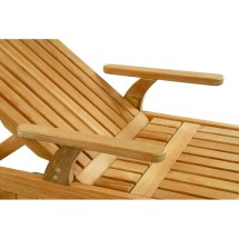 adjustable knee bend chaise lounge
