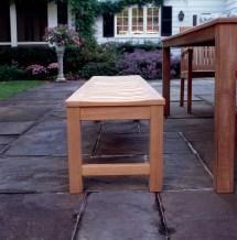backless bench kingsley-bate