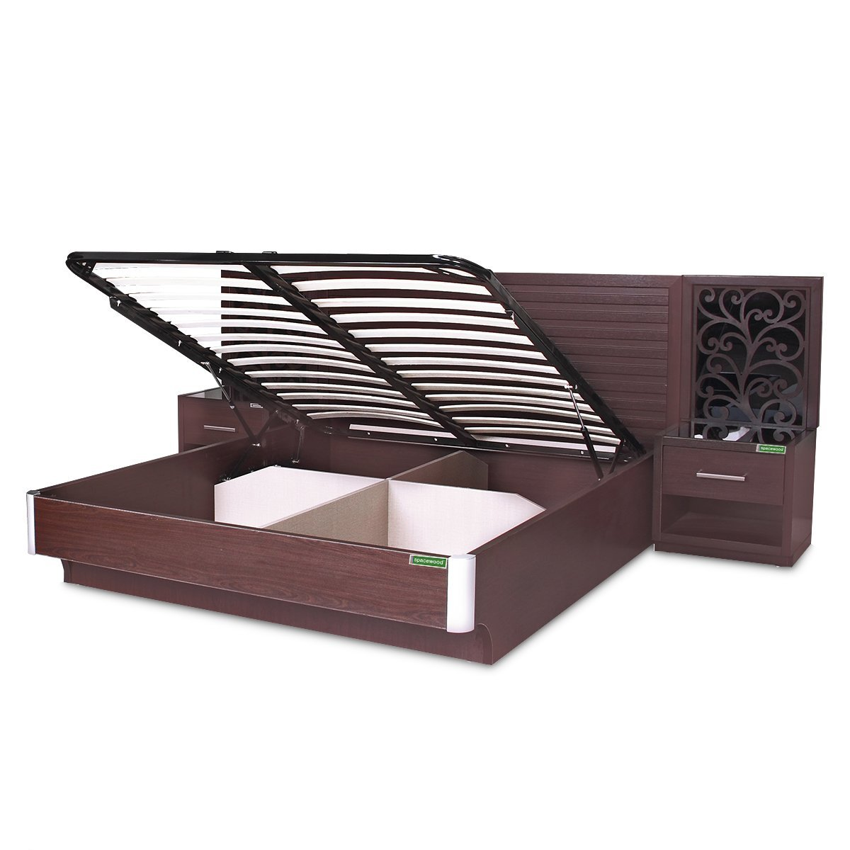 Kosmo Akina King Size Bed With Lift On Storage In Vermount