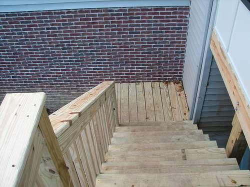 Comment Construire Un Escalier Exterieur