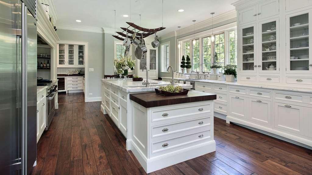 photo une cuisine style cottage de luxe