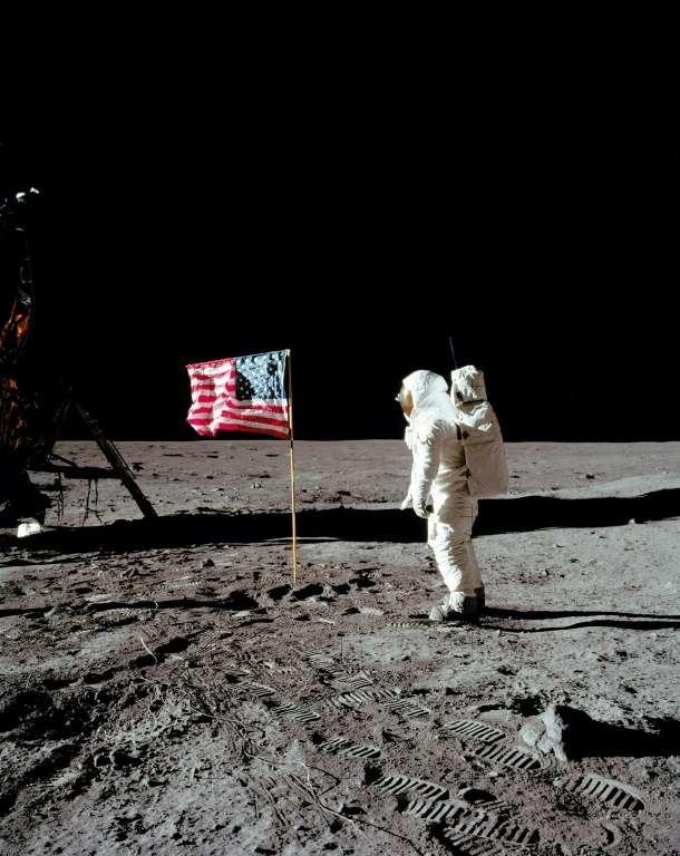 Combien D Astronautes Ont Marché Sur La Lune : combien, astronautes, marché, Premiers, Dépêche, L'AFP, Juillet