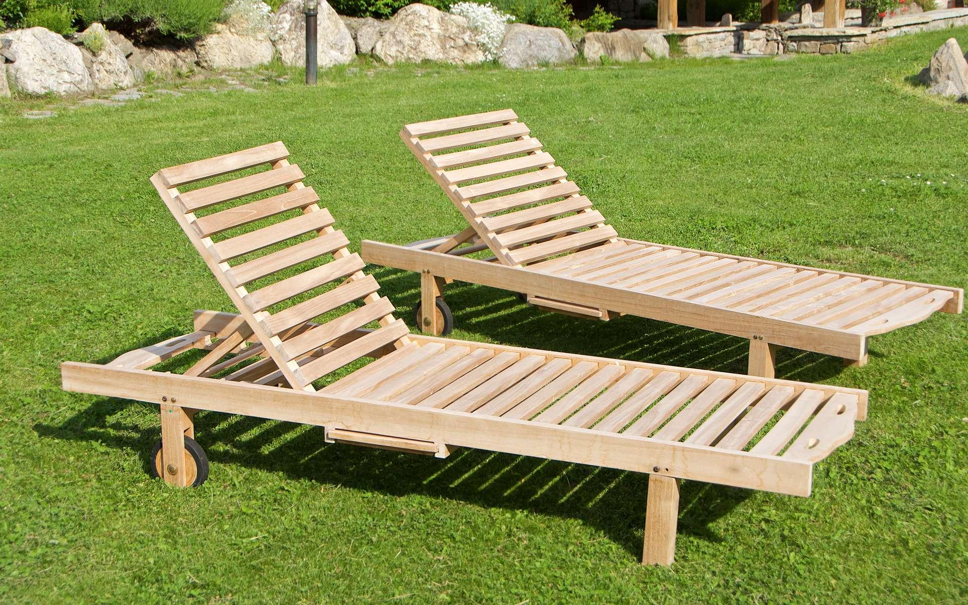 mobilier de jardin en bois comment l