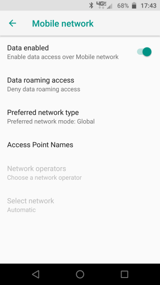 Fix LG W10 Mobile Data Not Working (Problem Solved)