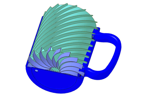 temperature controlled mug pcm