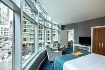 Kinzie King Suite With Downtown Chicago View