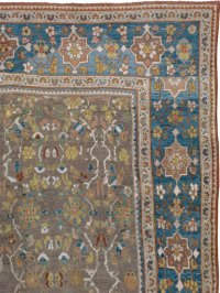 Antique Persian Mahal Carpet, No. 12008