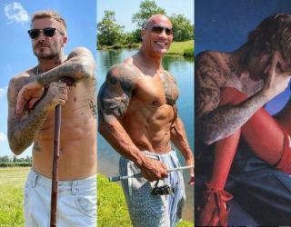 Celebrities who love tattoos
