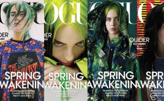 Billie Eilish on the cover of Vogue