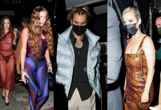 Hailey Bieber, Justin Bieber, Katy Perry - Kendall Jenner's party