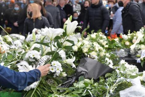 Pogrzeb Sebastiana z Katowic