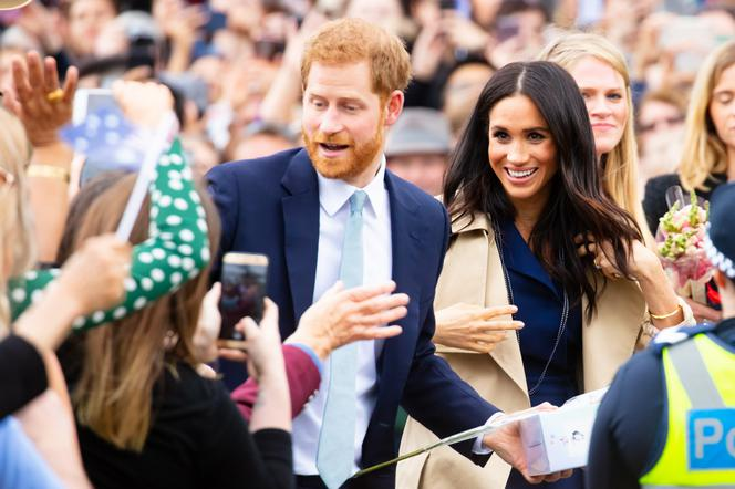 Harry and Meghan.  A crisis in the royal family