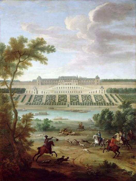 Château Neuf De Saint-germain-en-laye : château, saint-germain-en-laye, Jean-Baptiste, Martin, Elder, Chateau-Neuf, Saint-Germain, -en-Laye,, Terraces, Château, Versailles