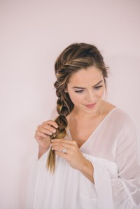 Twisted Side Braid Tutorial - Gal Meets Glam