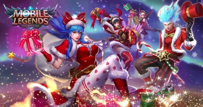 mobile legends akan berikan event natal, login dan