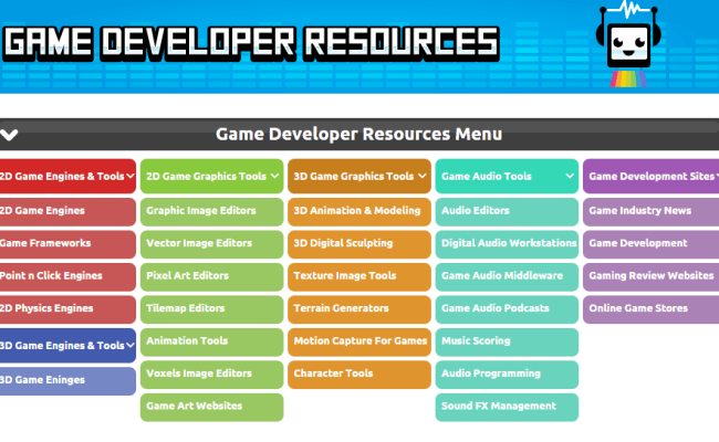 Big List Of Game Developer Tools Resources Your