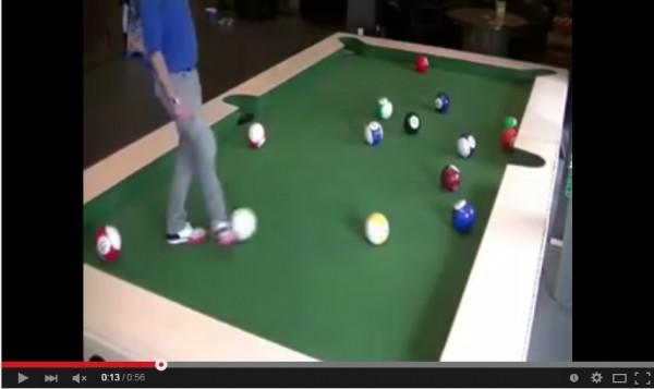 有片:唔用Q用腳 足球桌球二合一   GameOver HK